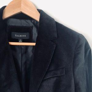 Talbots velvet jacket